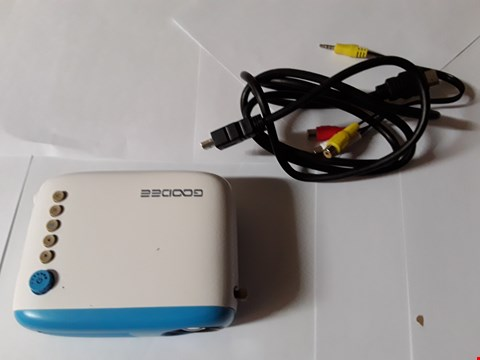Lot 1800 GOODEE GD-LP-G20M PROJECTOR