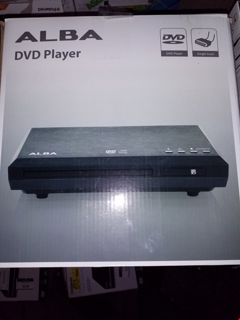 Lot 92 A BOXED ALBA DVD PLAYER