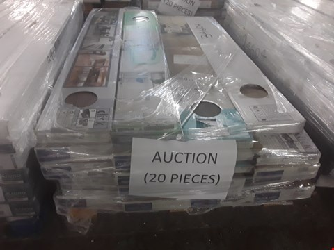 Lot 91 PALLET OF APPROXIMATELY 20 PACKS OF LAMINATE FLOORING