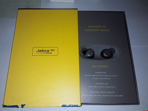Lot 5025 JABRA ELITE 75T TRUE WIRELESS BLUETOOTH EARBUDS