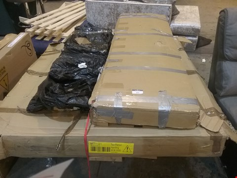 Lot 395 PALLET OF ASSORTED BED PARTS
