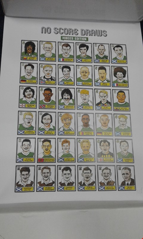 Lot 8217 6 ASSORTED FOOTBALL THEMED PICTURES AND PRINTS