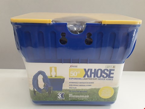Lot 37 BRAND NEW 50FT X-HOSE SET IN KEEPER BOX