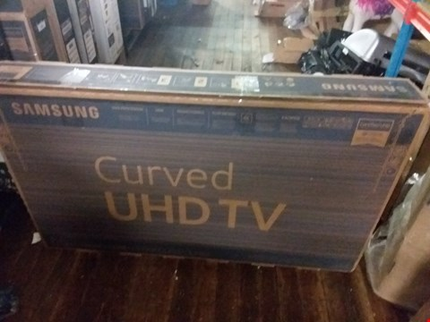 "Lot 3689 SAMSUNG 55"" 7 SERIES RU7300 CURVED TV"