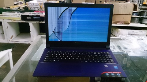 Lot 1404 LENOVO IDEAPAD 305 INTEL CORE I3 PURPLE. RRP £679.00