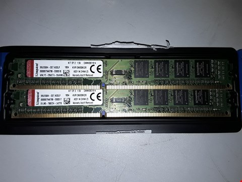 Lot 508 KINGSTON 8GB MEMORY SET