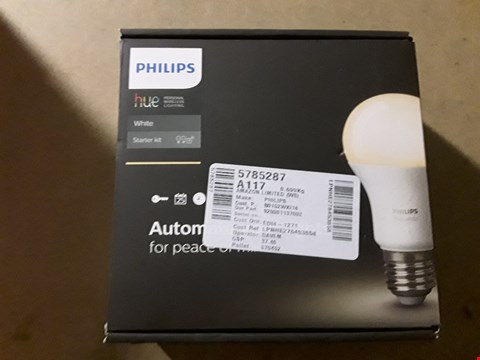 Lot 8185 PHILIPS HUE LIGHTING KIT