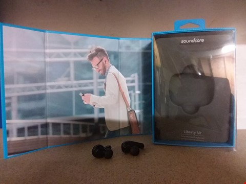 Lot 12836 SOUNDCORE ANKER LIBERTY AIR TRUE-WIRELESS EARPHONES (INCOMPLETE NO CHARGING CASE)