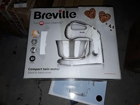 Lot 643 BREVILLE COMPACT TWIN MOTOR MIXER