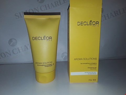 Lot 899 DECLEOR PARIS AROMA SOLUTIONS ENERGISING GEL 150ML