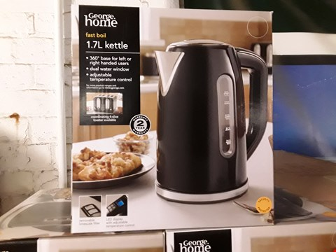 Lot 17031 BOXED BRAND NEW GEORGE HOME FAST BOIL 1.7L KETTLE