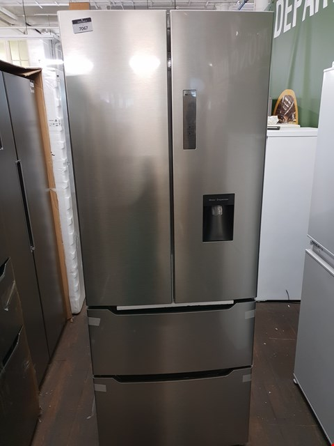 Lot 12071 HISENSE AMERICAN FRIDGE FREEZER RF528N4WC1