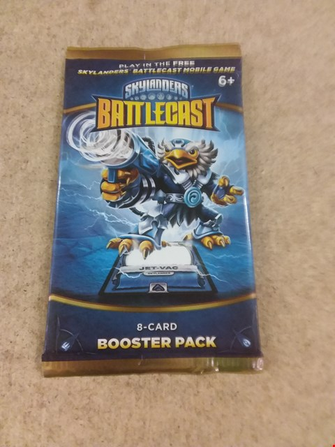 Lot 427 8 BRAND NEW SKYLANDERS BATTLECAST 8-CARD BOOSTER PACK