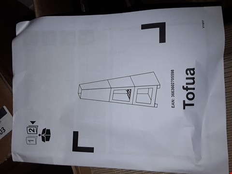Lot 1004 BOXED BLOOMA TOFUA STEEL CHIMINEA RRP £87.00