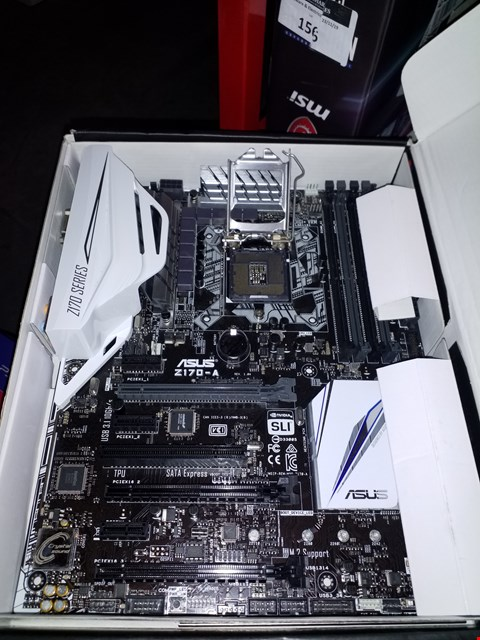 Lot 157 ASUS Z170-A MOTHERBOARD