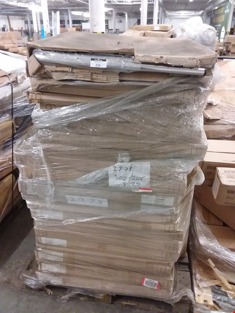 Lot 552 PALLET OF APPROXIMATELY 23 BOXED 80CM TABLE BASES