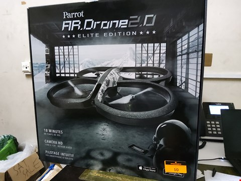 Lot 10 BRAND NEW BOXED PARROT AR DRONE 2.0 ELITE EDITION