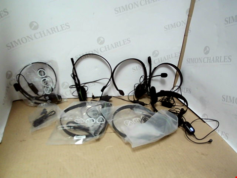 Lot 7732 QUANTITY OF APPROXIMATELY 6 GAMING HEADSETS / HEADPHONES
