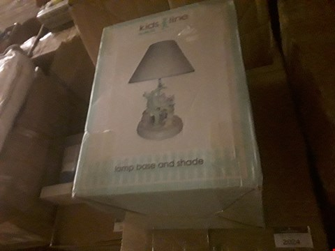 Lot 2024 BRAND NEW BOXED KIDSLINE SNUG AS A BUG LAMP WITH SHADE RRP £29.91