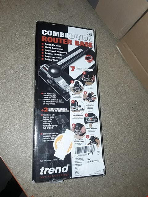 Lot 1668 TREND CRB 7-FUNCTION COMBINATION ROUTER BASE