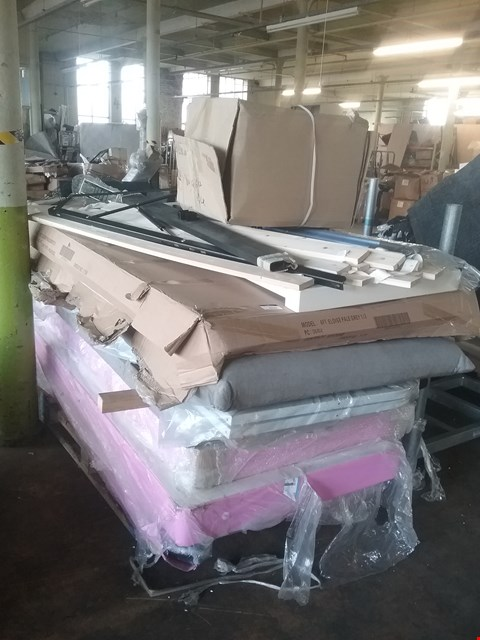 Lot 4139 PALLET OF ASSORTED BED PARTS