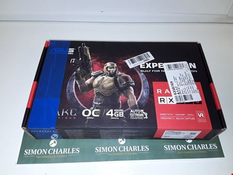 Lot 6032 ASUS GEFORCE RX570 GRAPHICS CARD