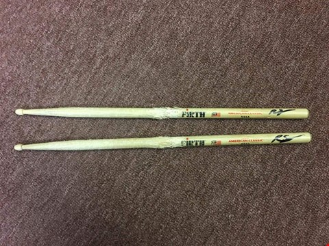 Lot 32 SIGNED DRUMSTICKS DONATED BY 'SCISSOR SISTERS' DRUMMER AND MUSICIAN RANDY SCHRAGER