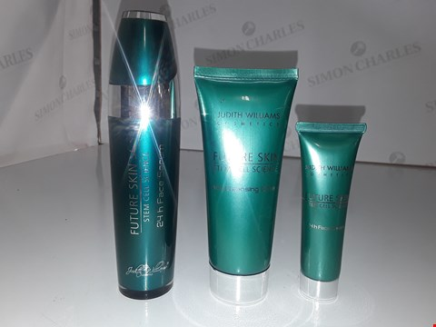Lot 824 JUDITH WILLIAM'S FUTURE SKIN SCS 24 H FACE SERUM 50ML/ RICH CLEANSING CREAM 100ML/ 24 H FACE CREAM 30ML