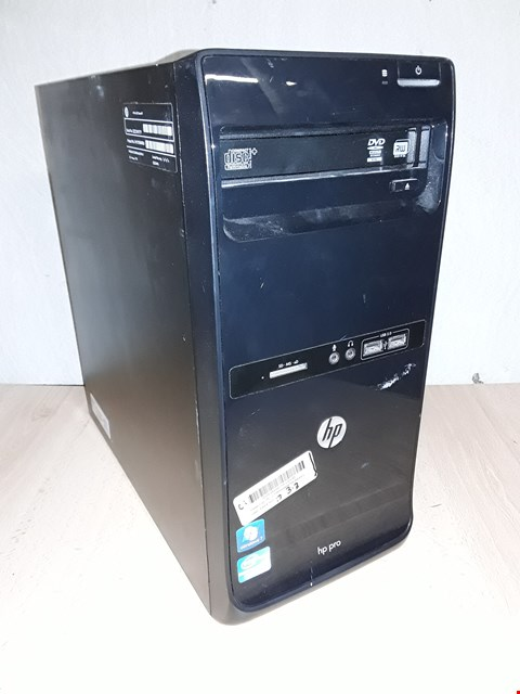 Lot 1025 HP PRO 3400 SERIES MT CORE I-3 COMPUTER