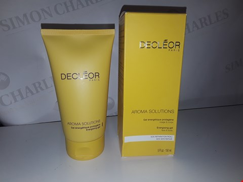 Lot 898 DECLEOR PARIS AROMA SOLUTIONS ENERGISING GEL 150ML