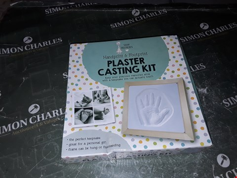 Lot 1328 BABY HAND PRINT AND FOOT PRINT CASTING KIT