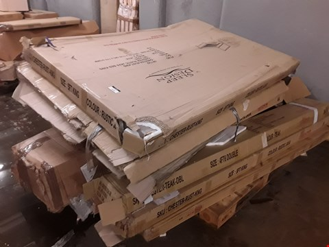 Lot 3152 PALLET OF ASSORTED FLAT PACK FURNITURE PARTS