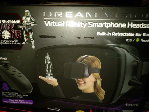 Lot 2448 DREAM VISION SMARTPHONE VIRTUAL REALITY GAMING SYSTEM