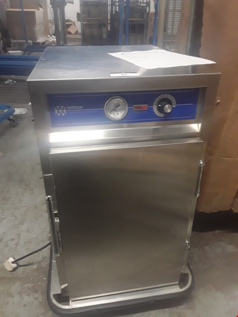 Lot 83 WITTCO 1220-7 HOLDING AND TRANSPORT HEATED CABINET