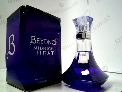 Lot 5588 BEYONCE MIDNIGHT HEAT FOR WOMEN 100ML RRP £55.00