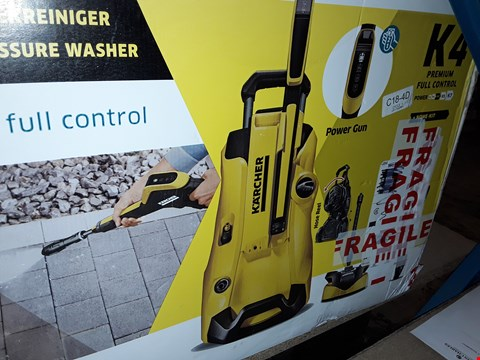 Lot 12566 KARCHER K4 FULL CONTROL PRESSURE WASHER