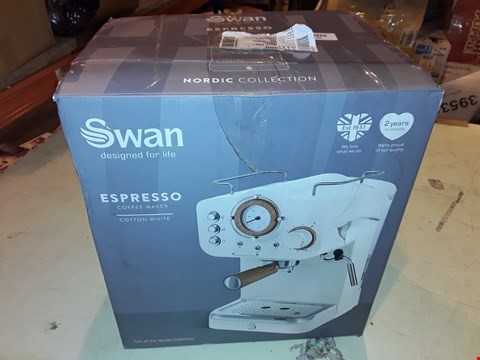 Lot 1211 SWAN ESPRESSO COFFEE MAKER