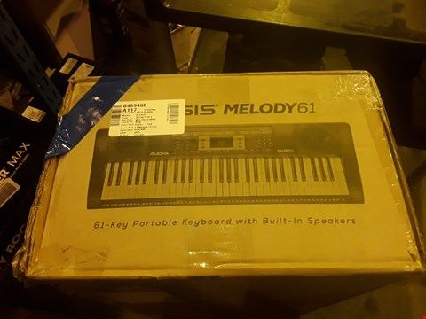 Lot 2793 ALESIS MELODY 61 KEY KEYBOARD