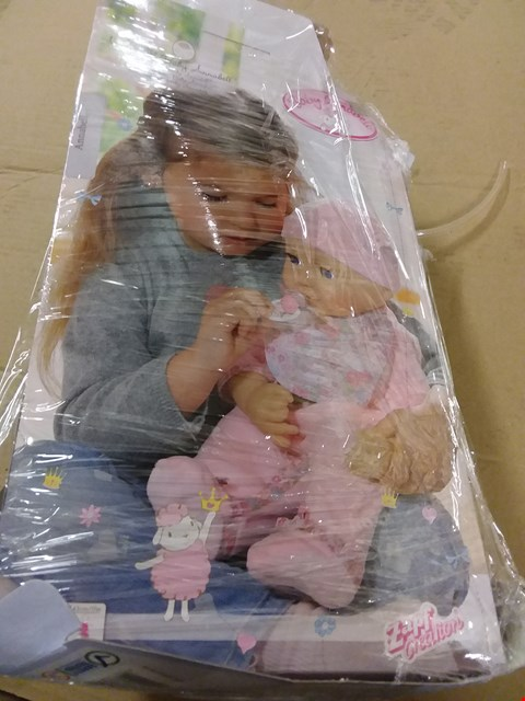 Lot 179 BABY ANNABELL DOLL RRP £69.99