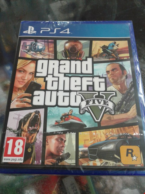 Lot 1545 BRAND NEW GTA V GAME FOR PS4 RRP £75
