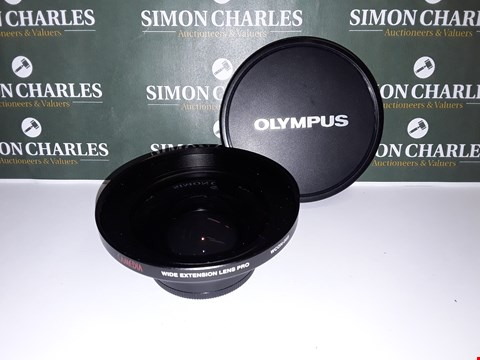 Lot 324 UNBOXED OLYMPUS CAMEDIA WIDE EXTENSION LENS PRO - WCON08B