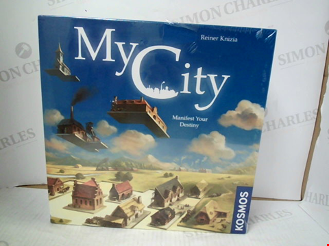 Lot 3108 MYCITY BOARD GAME