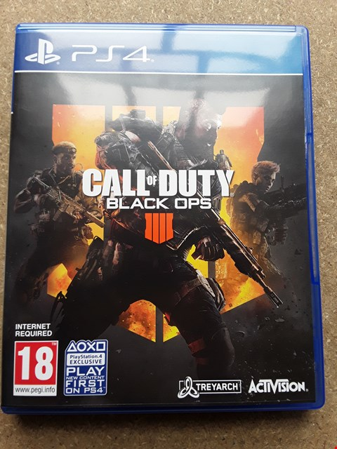 Lot 7665 CALL OF DUTY BLACK OPS IIII PLAYSTATION 4 GAME
