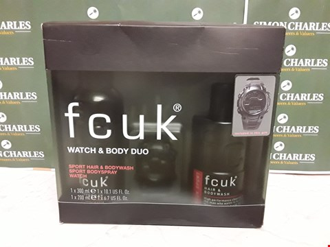 Lot 12026 FCUK STYLE WATCH & DODGY DUO BOXSET