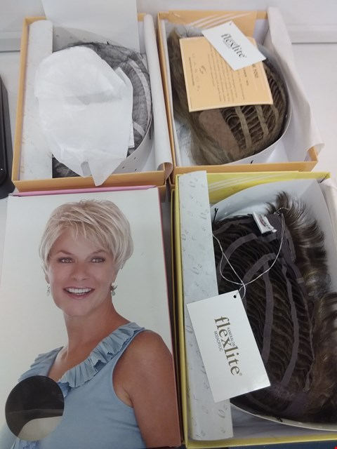 Lot 578 LOT OF 4 ASSORTED WIGS