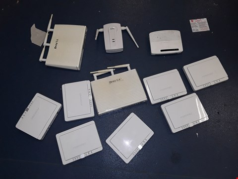 Lot 4136 BOX OF APPROXIMATELY 16 ASSORTED ROUTERS
