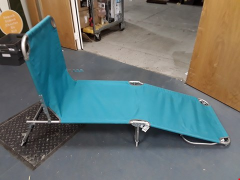 Lot 6091 BRIGHTON SUNLOUNGER TURQUOISE  RRP £30.00