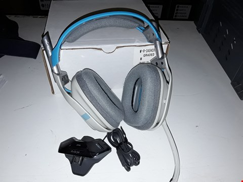 Lot 8048 REFURBISHED ASTRO A40 GAMING HEADSET - GREY/BLUE
