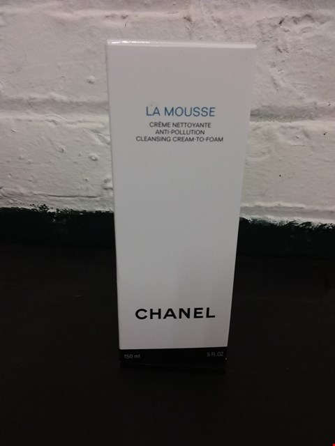 Lot 11023 BOXED CHANEL LA MOUSSE CREME NETTOYANTE CLEANSING CREAM TO FOAM