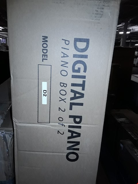 Lot 7331 BOXED MODEL D2 DIGITAL PIANO BENCH (BOX 2OF2 ONLY)